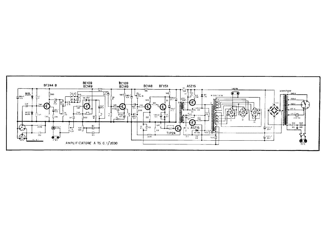 geloso g273a 2x807 audio amplifier sch service manual