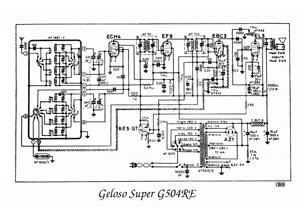 Geloso G275a 2x807 Audio Combo Amplifier Sch Service Manual Free Download  Schematics  Eeprom