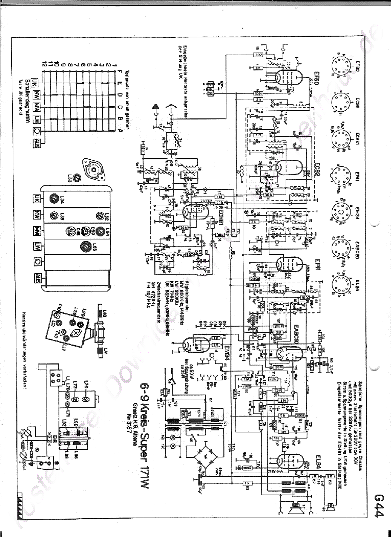 Quad 405 Schaltplan