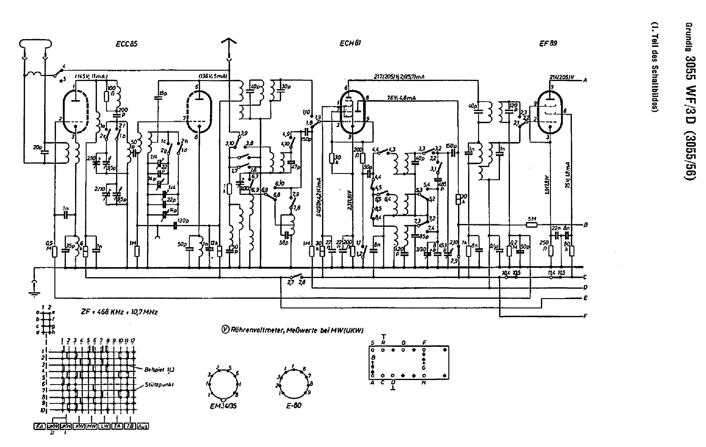 Free Schematics Grundig - Block And Schematic Diagrams •