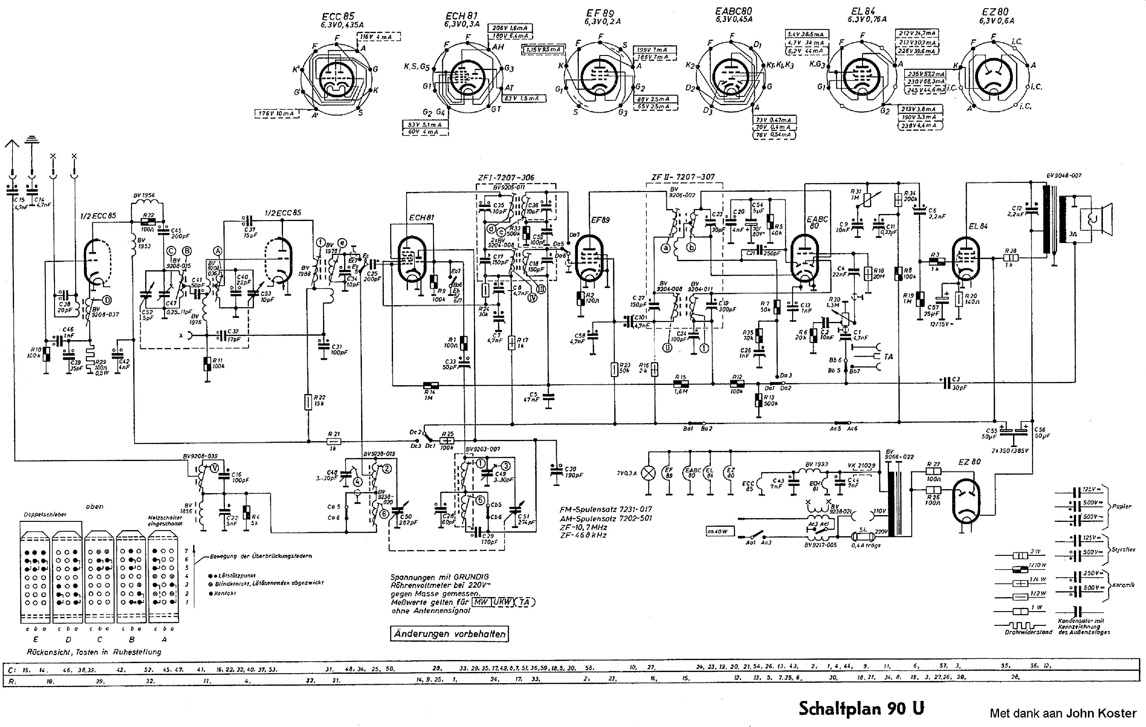 Grundig 90u Service Manual Download  Schematics  Eeprom