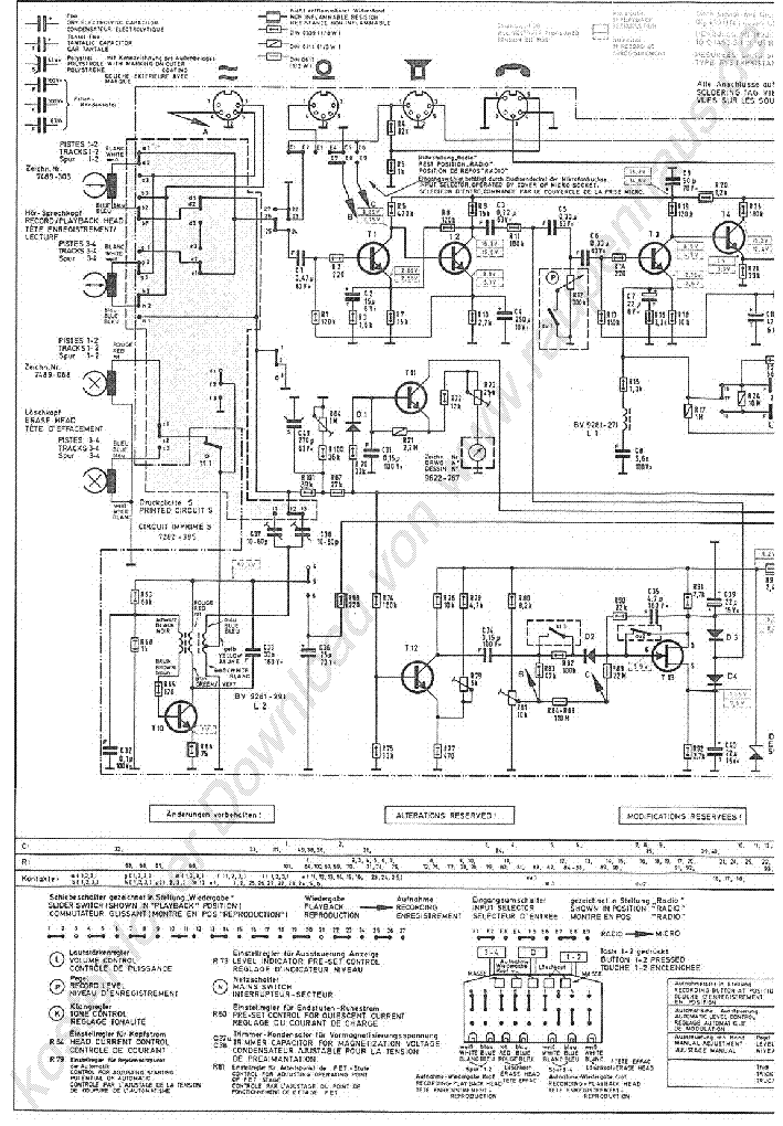 Grundig Tk146 U Service Manual Download  Schematics