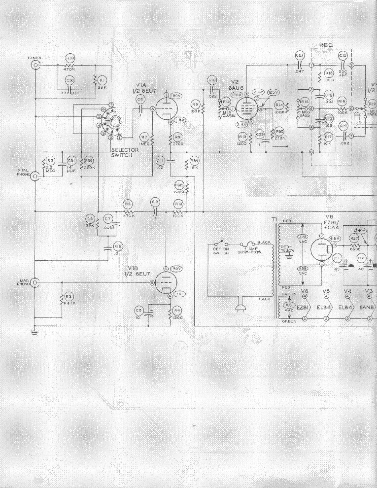 el84 amplifier schematic