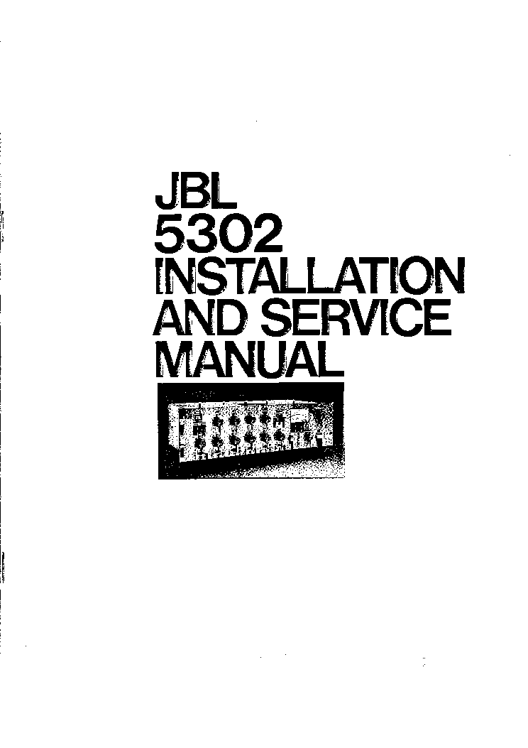 jbl 5302 6 microphone and 2 line level input audio combiner equalizer sm service manual download