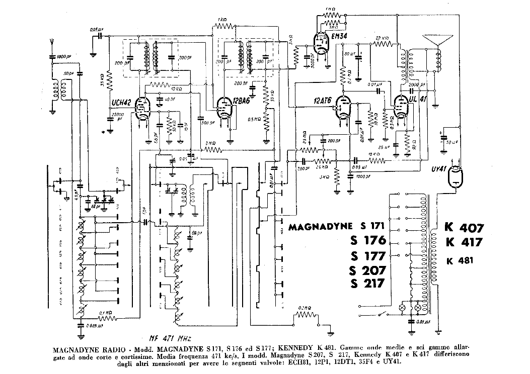 kennedy k481 k407 k417 s171 s176 s177 s207 s217 am radio receiver Simple AM Transmitter Circuit kennedy k481 k407 k417 s171 s176 s177 s207 s217 am radio receiver sch service manual