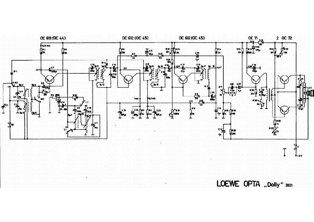 loewe ro433 radio sch service manual download  schematics