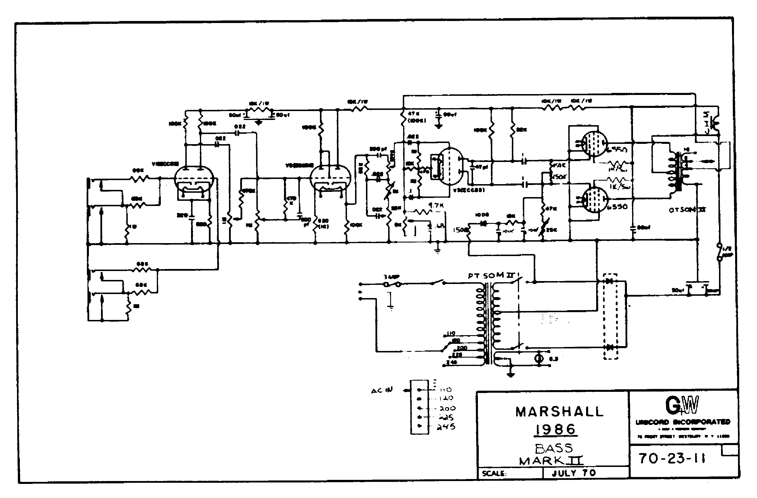 marshall wiring diagram marshall 2061 wiring diagram wiring diagram and schematic kam cdc 101 piezoelectric charge to digital converter