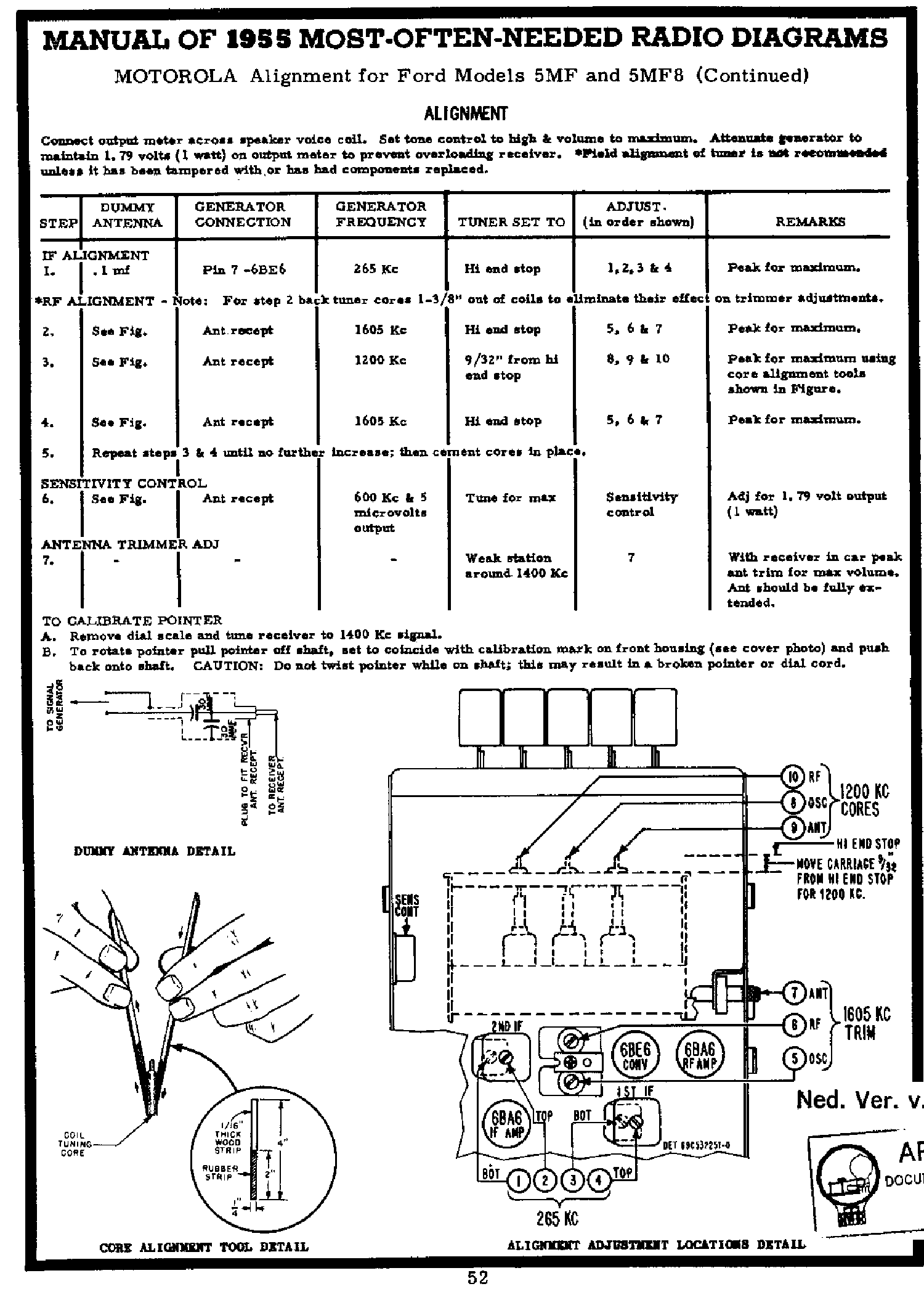 motorola 5mf8 autoradio for ford fdh18805 a2 1955 sm service manual rh elektrotanya com Chilton Repair Manuals PDF Ford Focus Haynes Repair Manual
