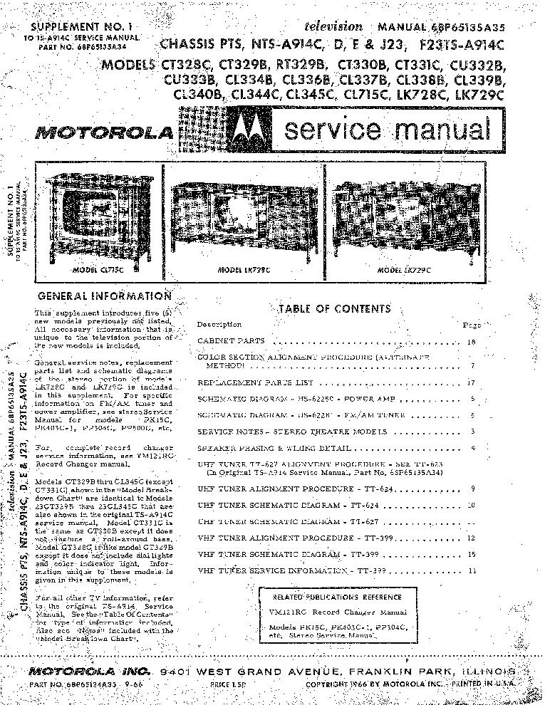 motorola gm338 service manual pdf
