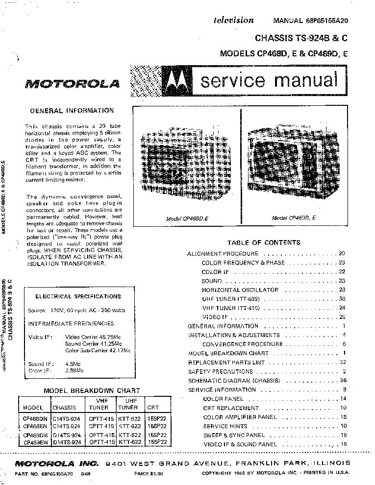 Manual for motorola sm 120