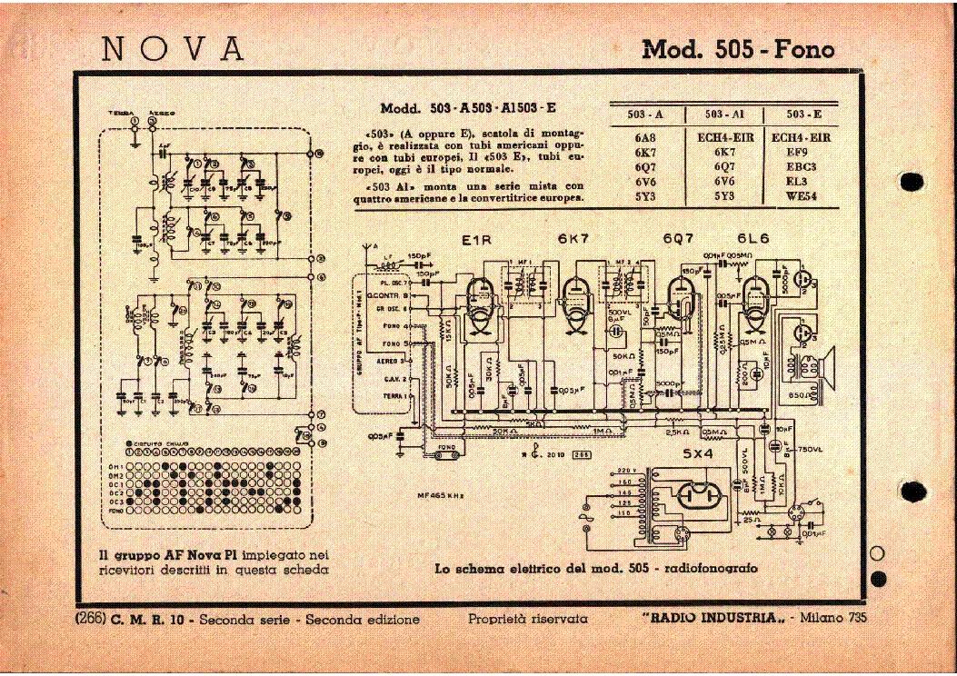Nova a2 am radio receiver sch service manual download, schematics.