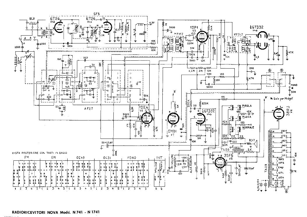 Ferranti ac lancastria nova-35 receiver 1935-45 sm service manual.