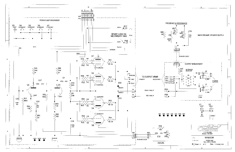 peavey horn wiring diagram