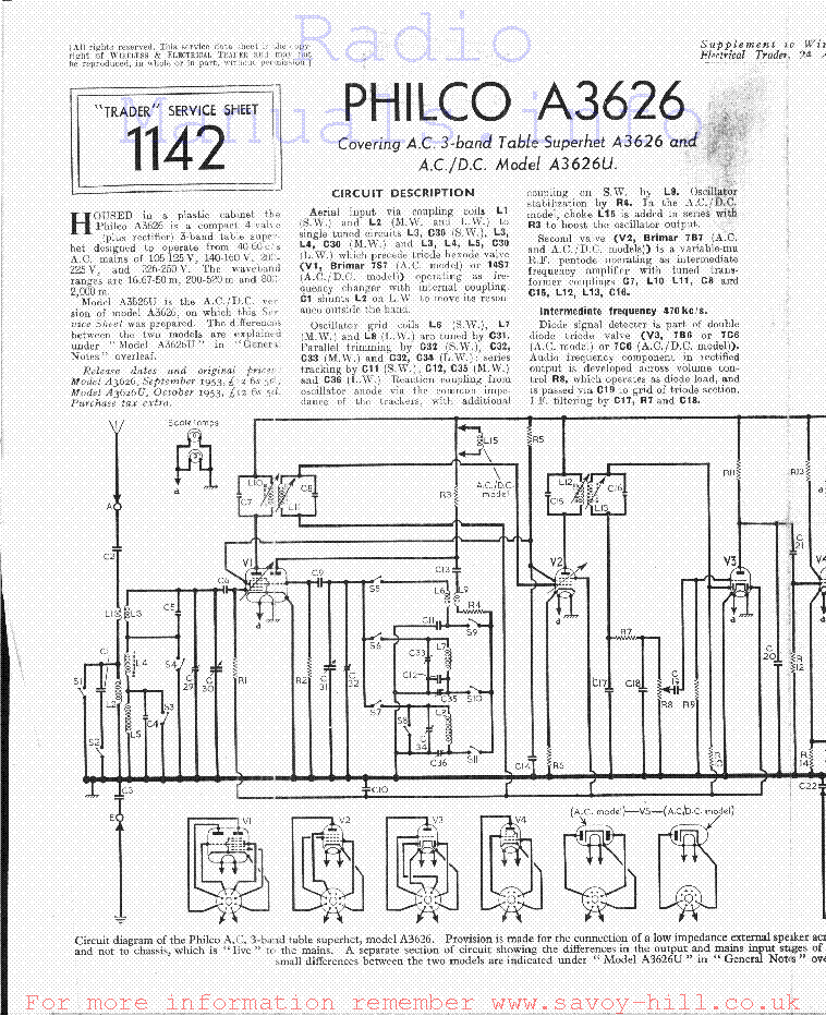 philco a3626 service manual download schematics eeprom repair rh elektrotanya com
