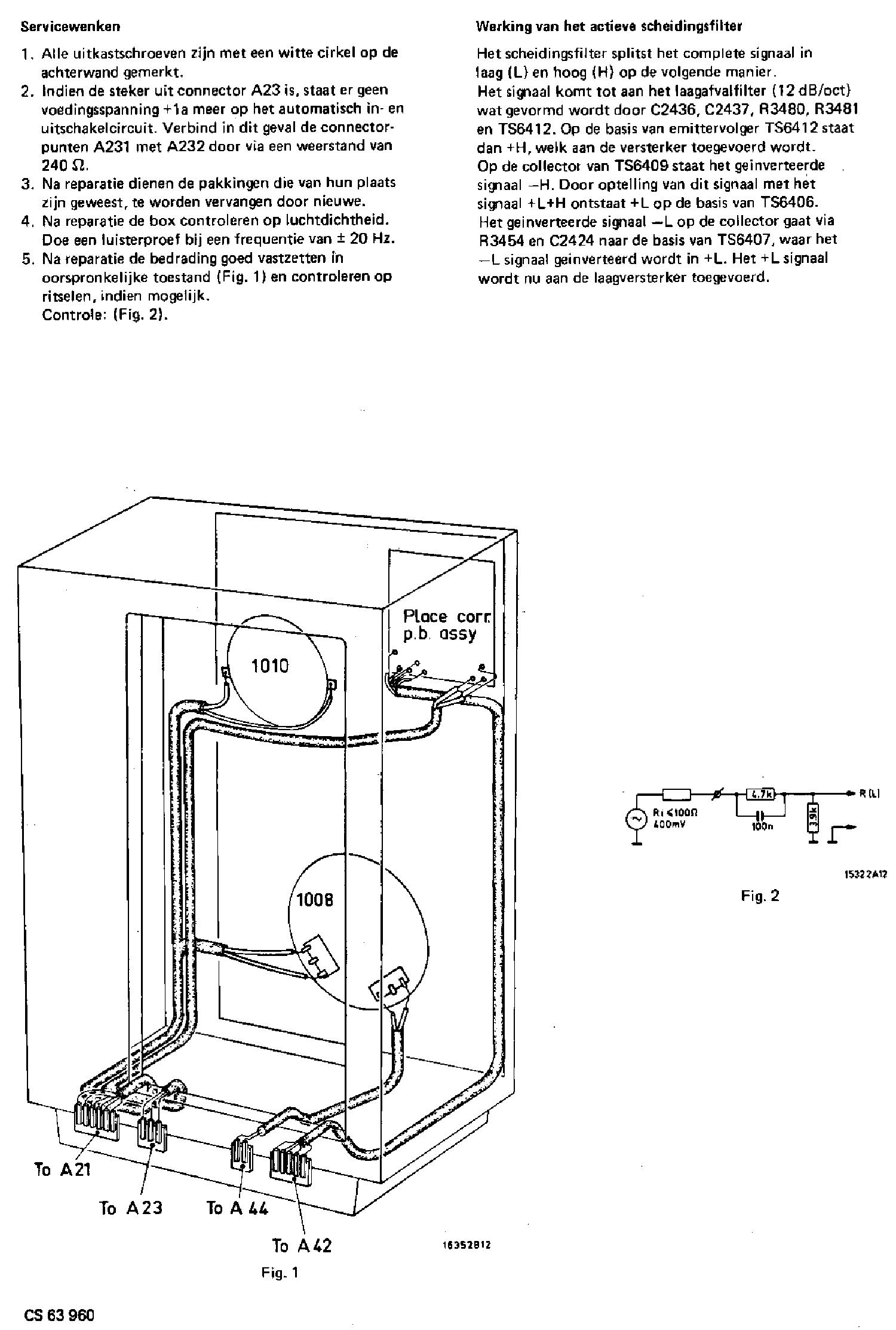 PHILIPS 22AH586-00-15-29 HIFI ACTIVE BOX SM Service Manual
