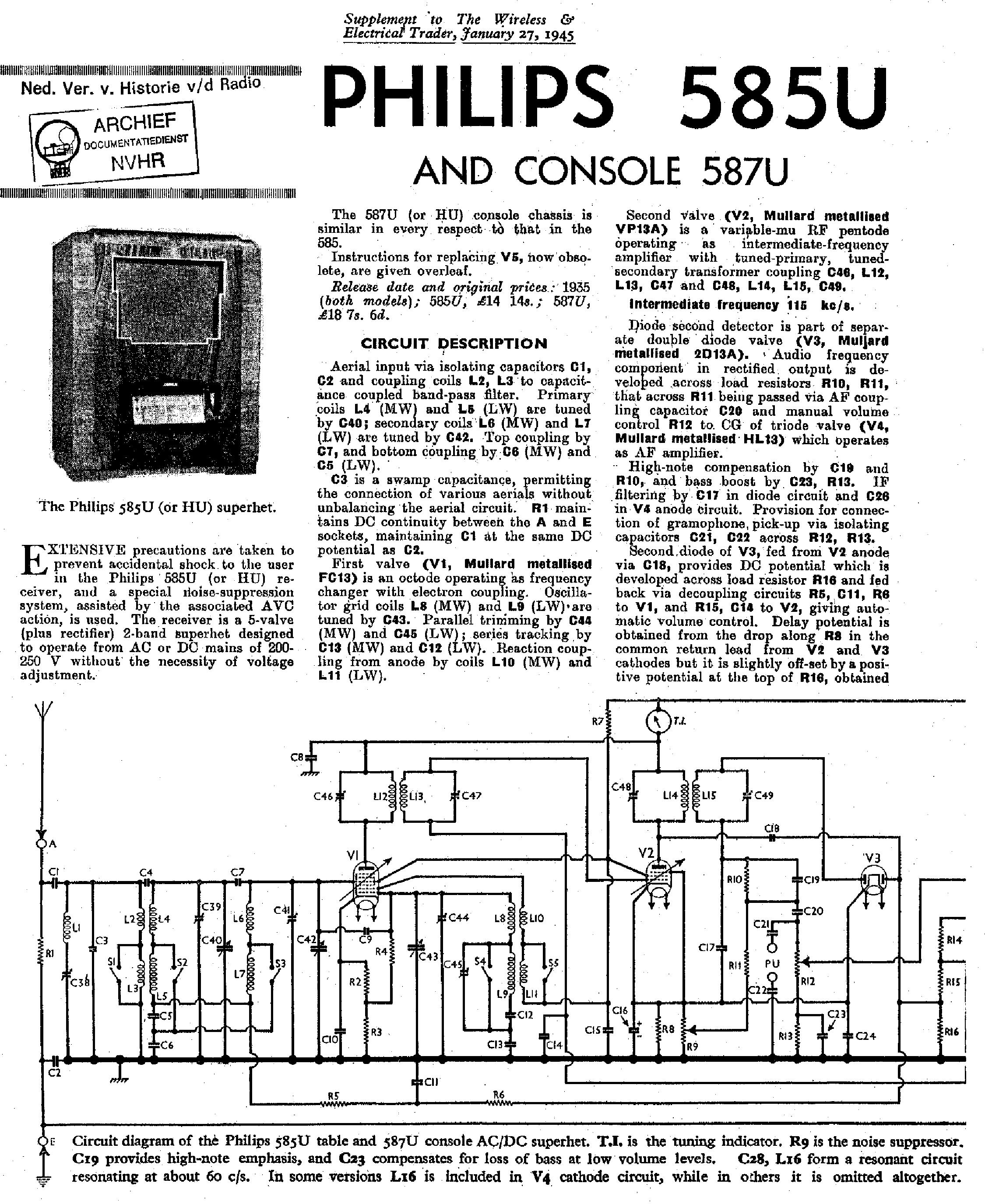 Philips 70fc141 Service Manual Download Schematics Eeprom Repair Ac Dc Indicator Circuit Diagram