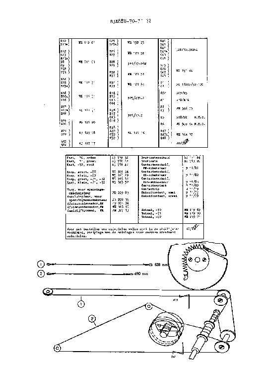 PHILIPS B3X88U service manual (2nd page)