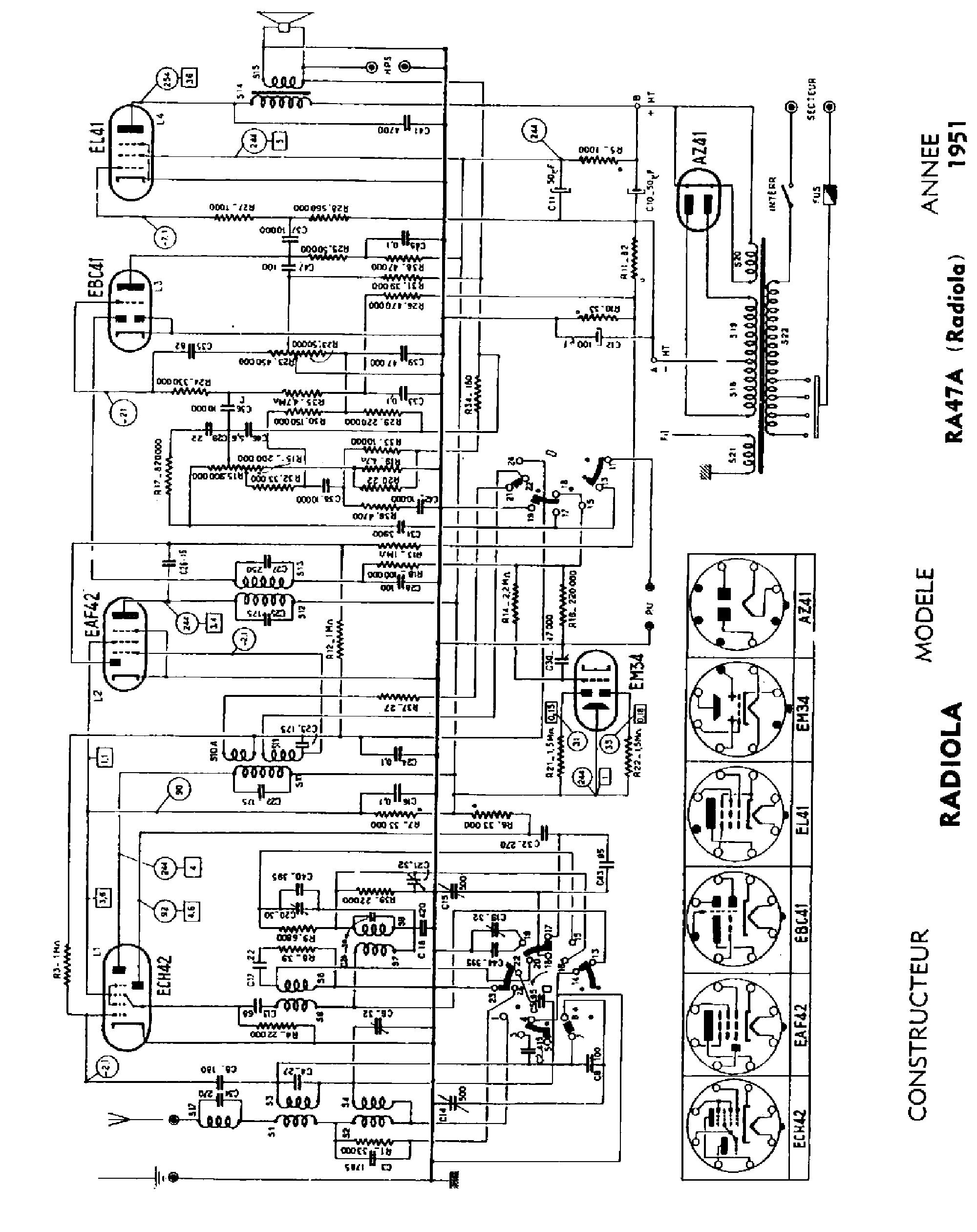 radio lucien levy superheterodyne