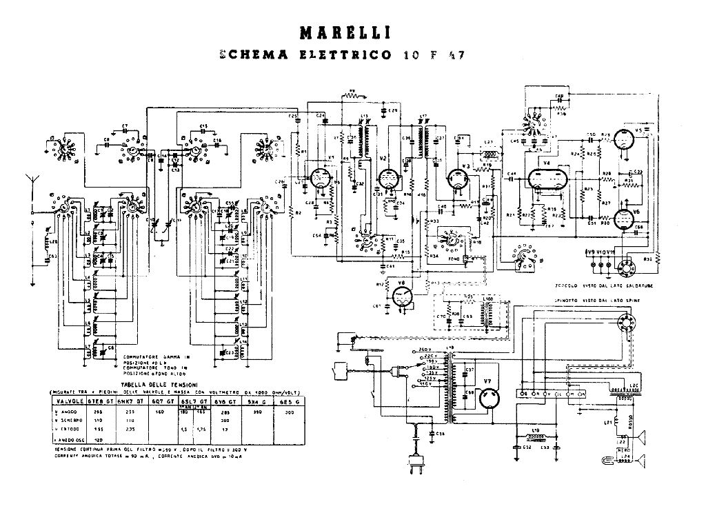 radiomarelli alcor am radio receiver sch service manual download  schematics  eeprom  repair