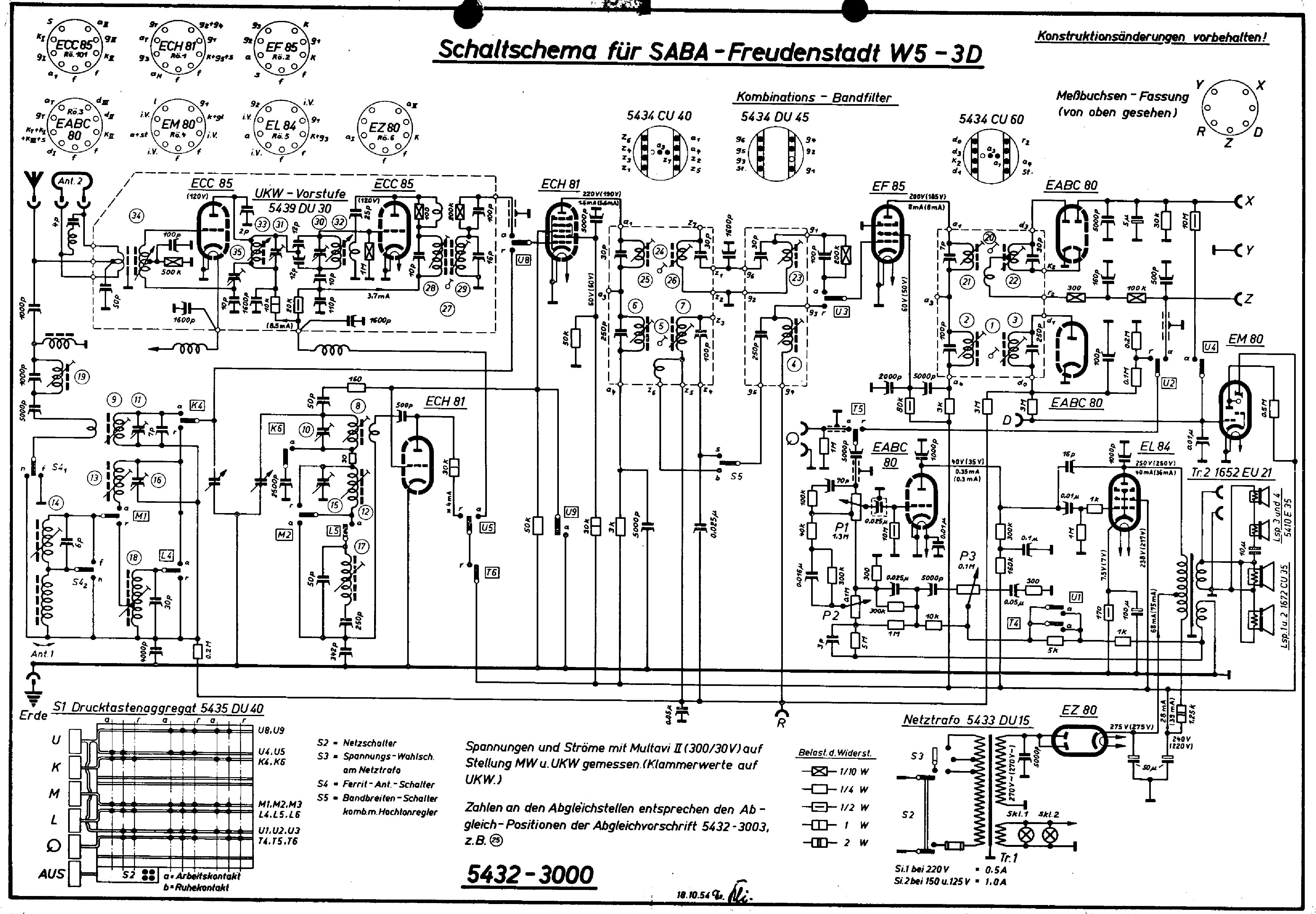 saba freudenstadt w53d service manual download  schematics