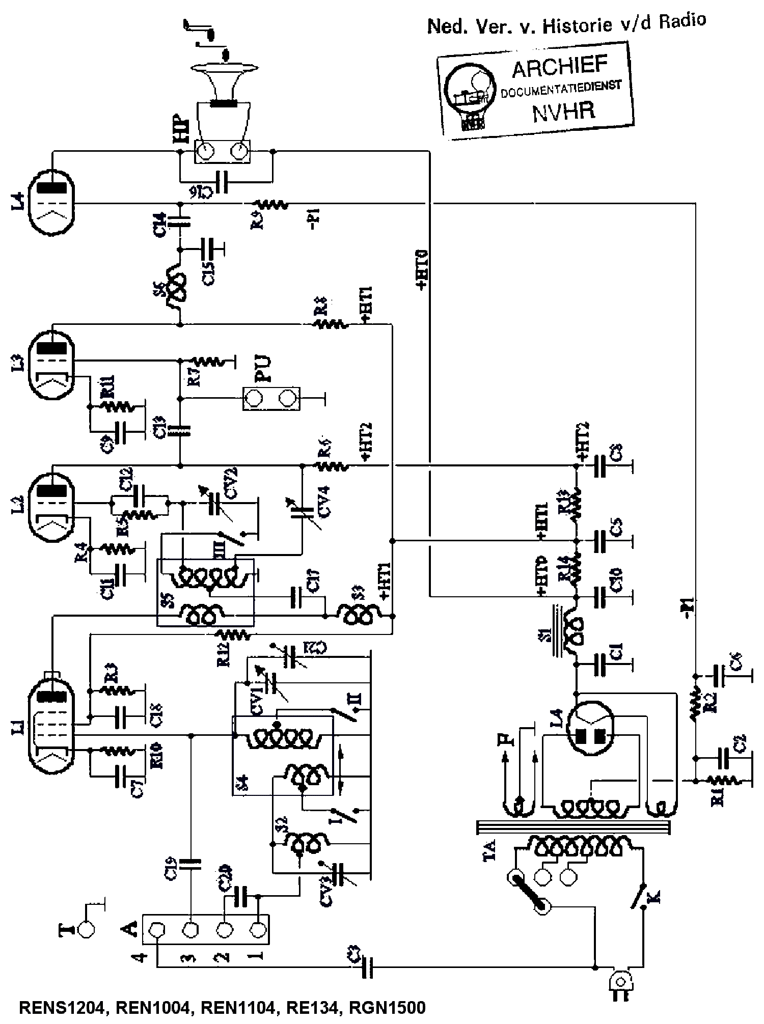 schaub un4 ac receiver sch service manual download schematics Central AC Wiring Diagram schaub un4 ac receiver sch service manual 1st page