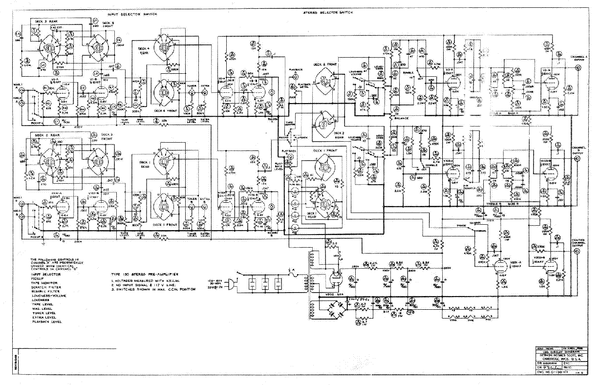 Scott 342 Stereomaster Service Manual Download Schematics Eeprom Tv Wiring Diagrams Get Free Image About Diagram 130 Sch