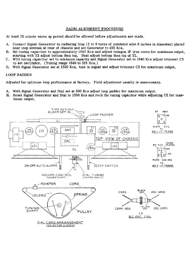 SPARTON 5J4 RADIO SCH Service Manual download, schematics, eeprom