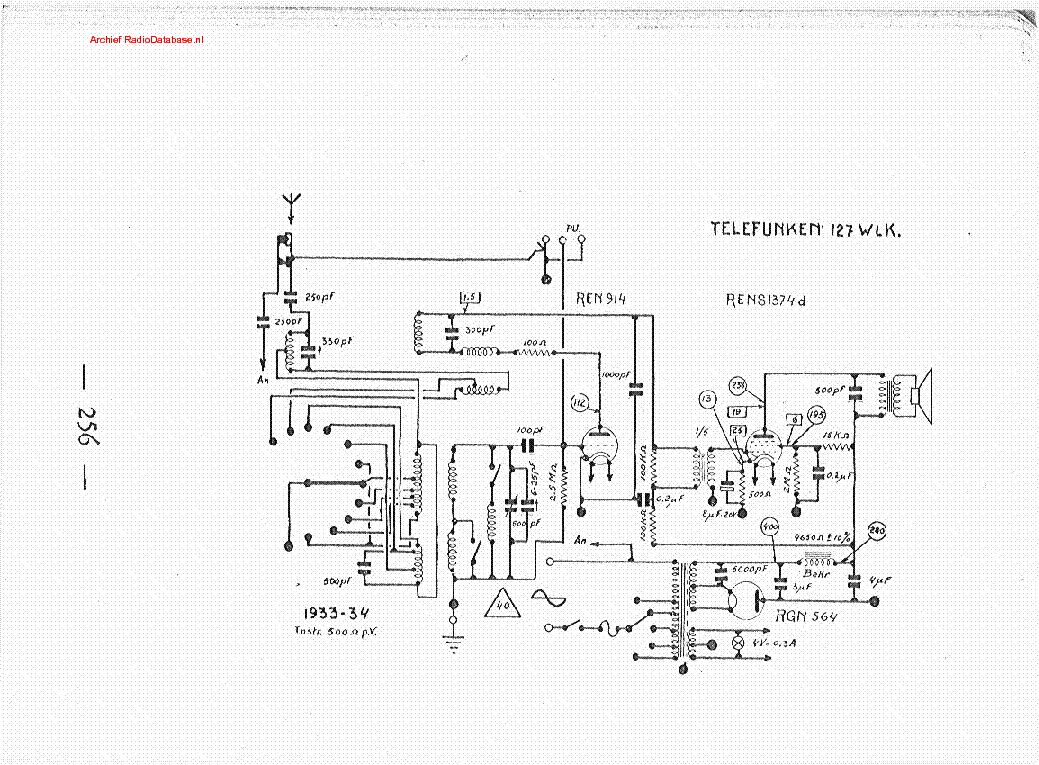 Telefunken Stereo Decoder64 Radio Sch Service Manual