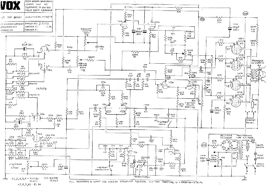 vox_ac30_1986_sch.pdf_1 Ac Schematic on old vox, diy vox, vs dc30, vox amplug 2, ac15 vs, best tubes for vox, best settings for vox,