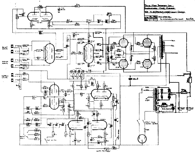 Vox Ac30 Schematic Electrical Circuit Electrical Wiring Diagram