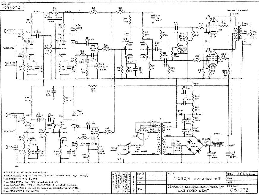 vox ac50 schematic wurlitzer organ schematic