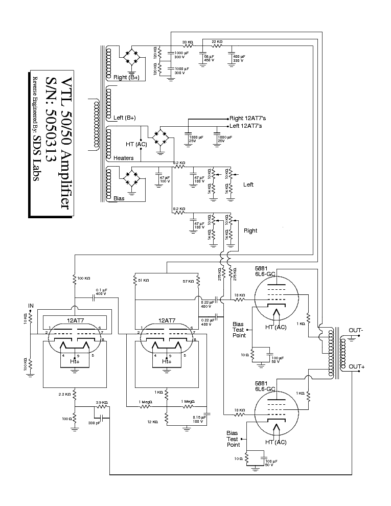Vtl 50 50 Sch Service Manual Download Schematics Eeprom Repair
