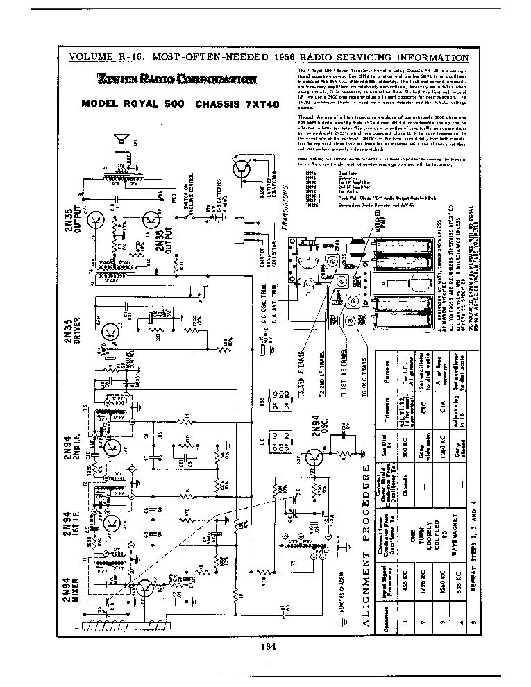 zenith royal500 service manual download schematics eeprom repair rh elektrotanya com zenith schematic 8h20 zenith schematic m660a