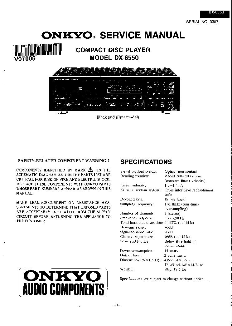 Onkyo Dx