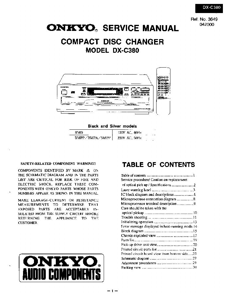 onkyo tx-nr828 service manual