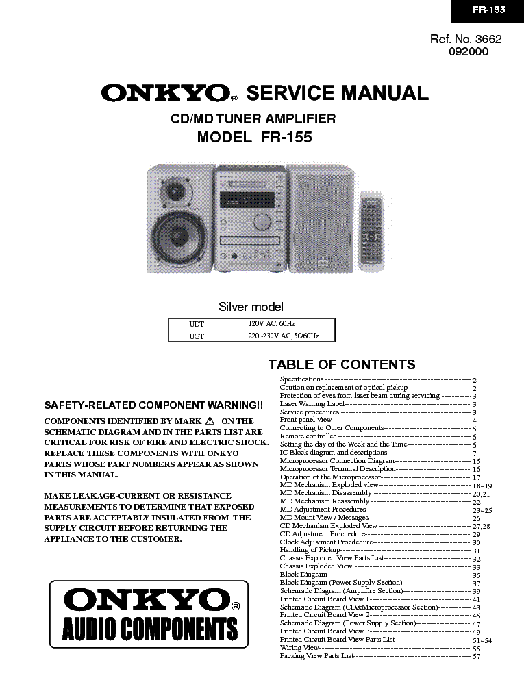 Onkyo Fr