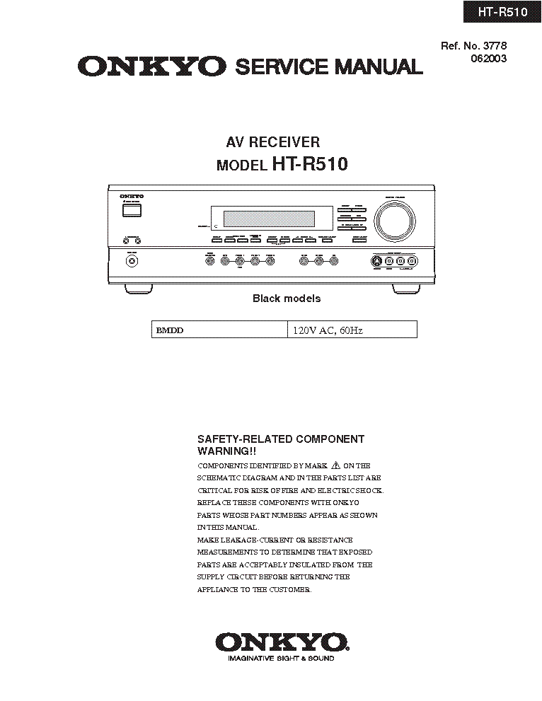 onkyo_ht r510_sm.pdf_1 onkyo tx sr608 b s g rev 5 sm service manual download, schematics  at bayanpartner.co