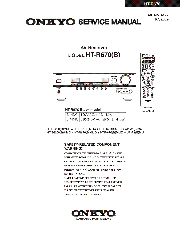 manual for onkyo ht r340