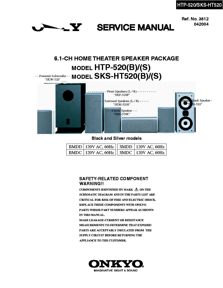 Onkyo Tx2500 Service Manual Parts Catalog Circuit Diagram 1
