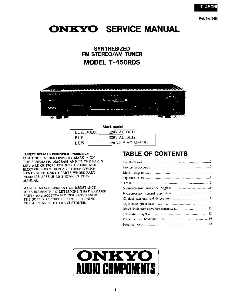 onkyo_t 450 rds.pdf_1 onkyo dx c606 c909 sm service manual download, schematics, eeprom  at nearapp.co