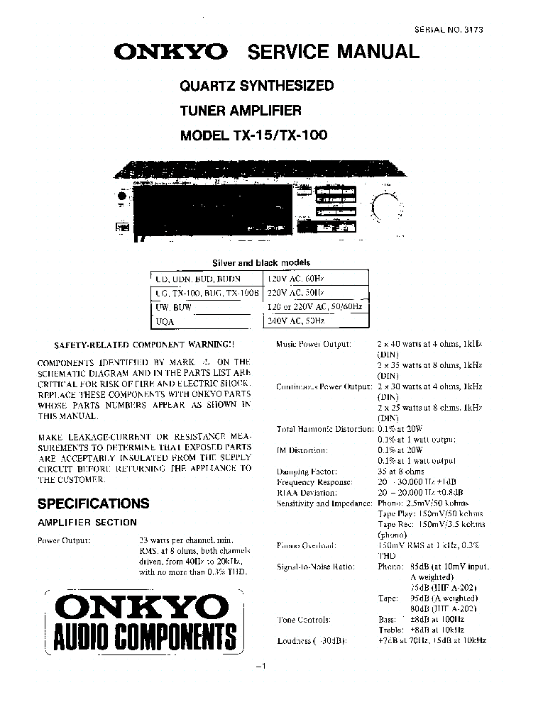 Onkyo turntable cp 1046f manual