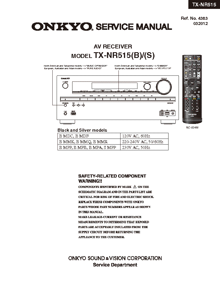 onkyo tx nr515 service manual download schematics eeprom repair rh elektrotanya com onkyo tx-nr616 service manual onkyo tx-nr616 service manual