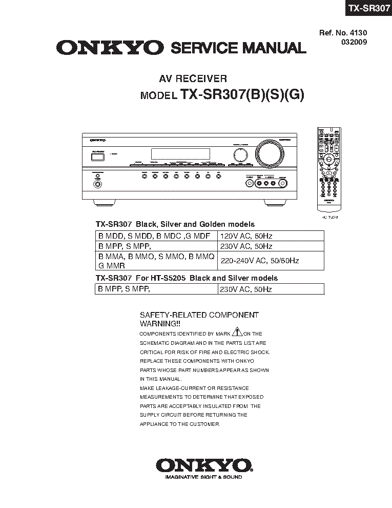 onkyo tx sr307 sm rev1 av receiver service manual download rh elektrotanya com onkyo tx sr307 manuel Onkyo TX SR501