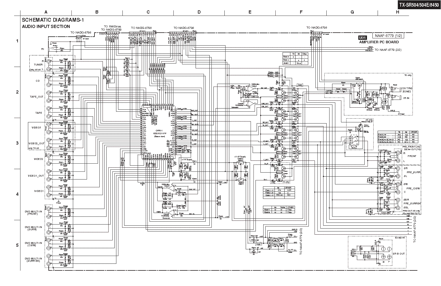 Onkyo Speaker Diagram Not Lossing Wiring Peavey Diagrams Scematic Rh 72 Jessicadonath De Fusion Speakers
