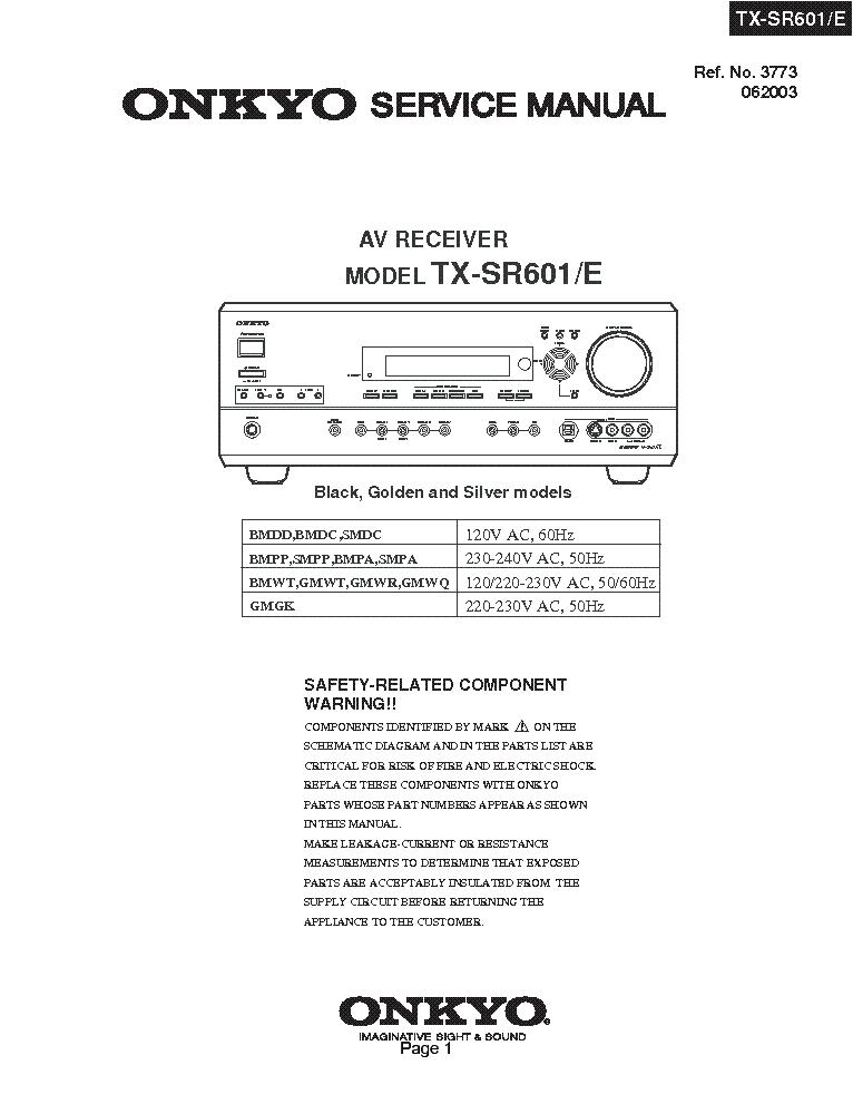 onkyo tx sr601 e sm service manual download schematics eeprom rh elektrotanya com Onkyo TX SR601 Receiver onkyo tx-sr601 specs