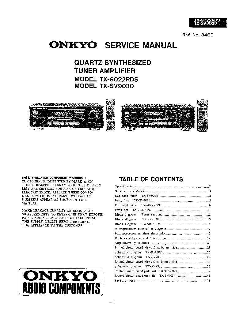 onkyo 818 manual