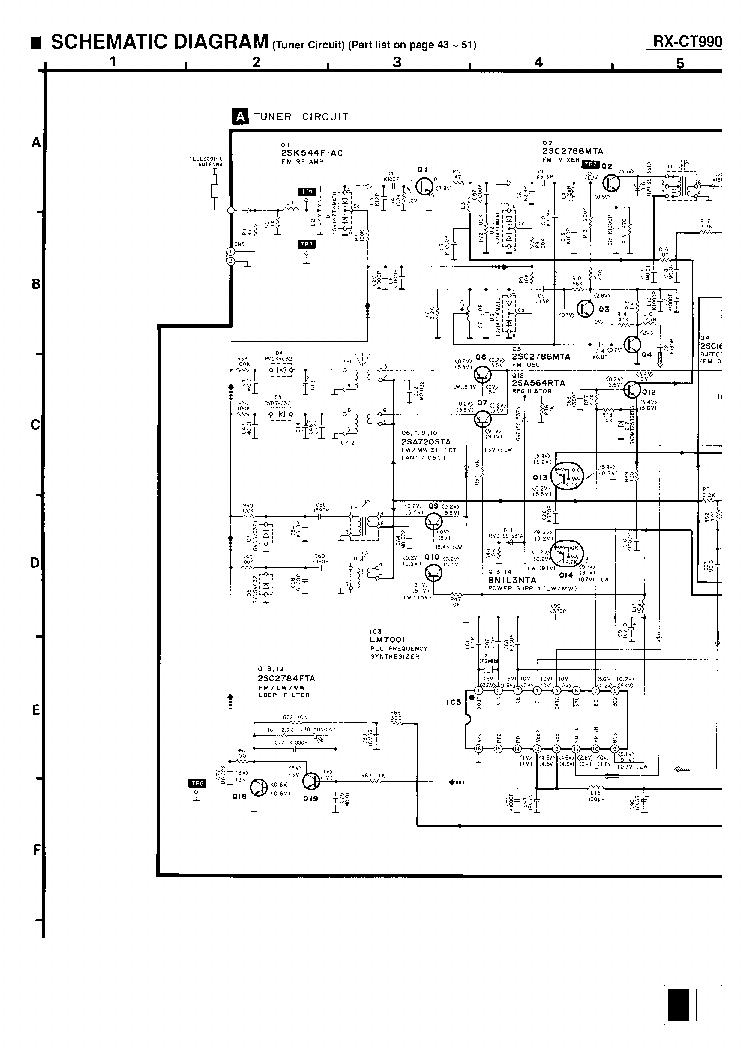 panasonic rx ct990 мануал
