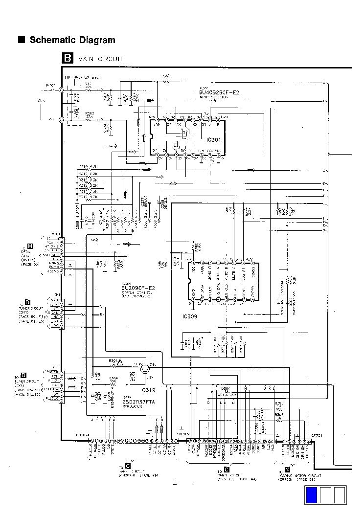 panasonic cq-c1300u service manual
