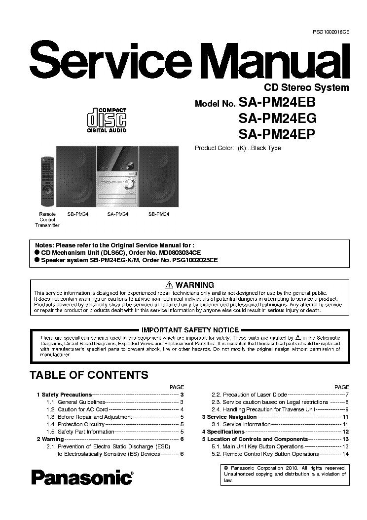 Panasonic SA-PM27EB