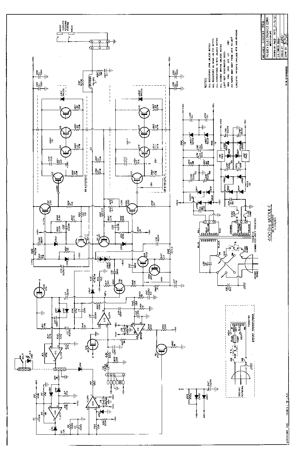 peavey 400bh service manual download  schematics  eeprom